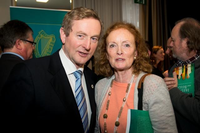An Taoiseach & Mary JO