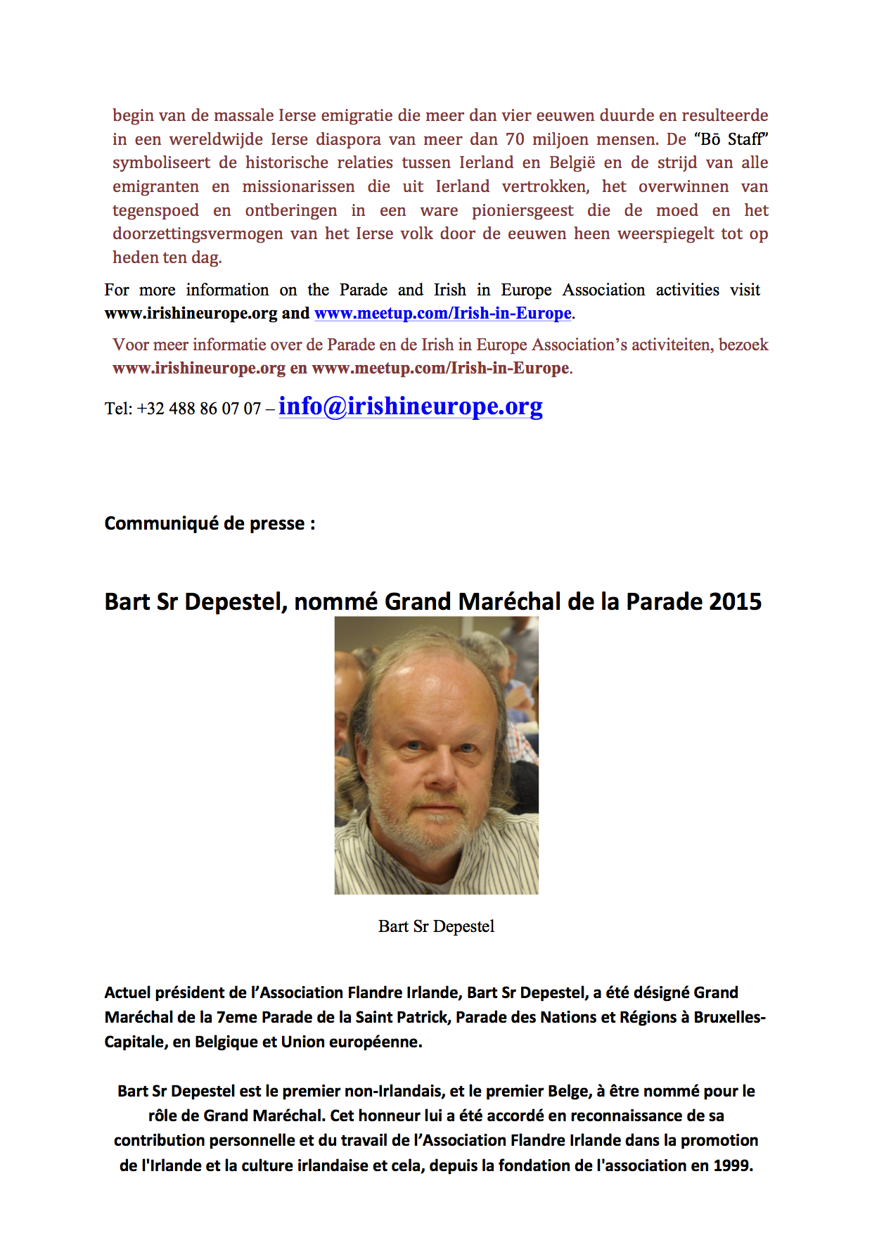 Announcement of Parade Grand Marshal Eng_Nl_Fr6