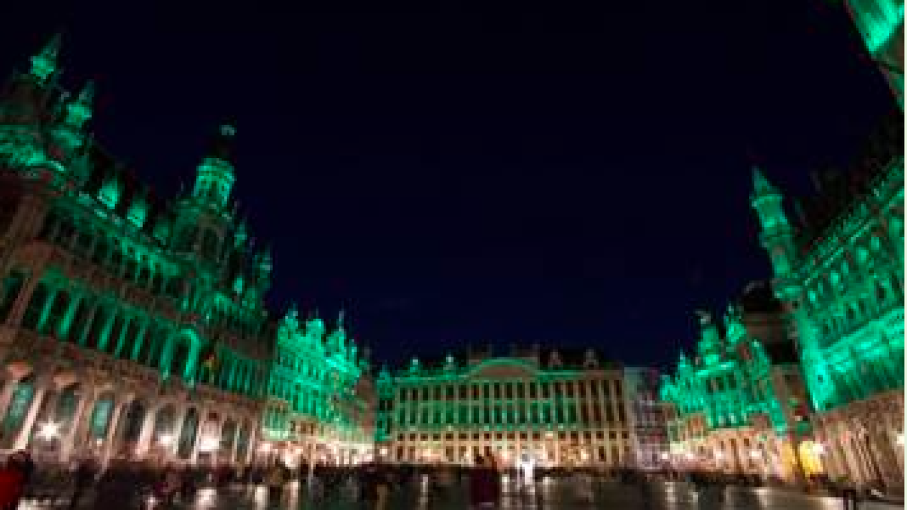 Greening of the Grand Place